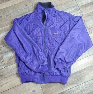 Vintage purple full zip Patagonia jacket